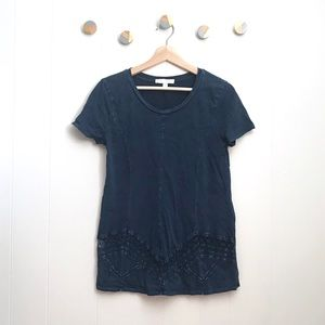 Anthropologie Eri + Ali Washed Weekend Tee | XS